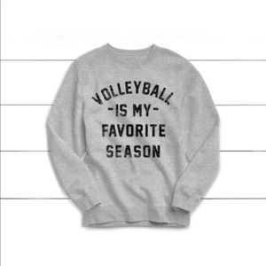 Sweaters - Volleyball is my favorite season sweater